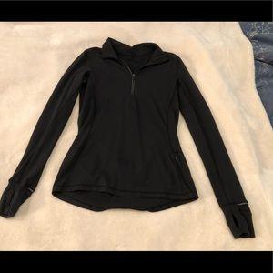 Lululemon black 1/4 zip
